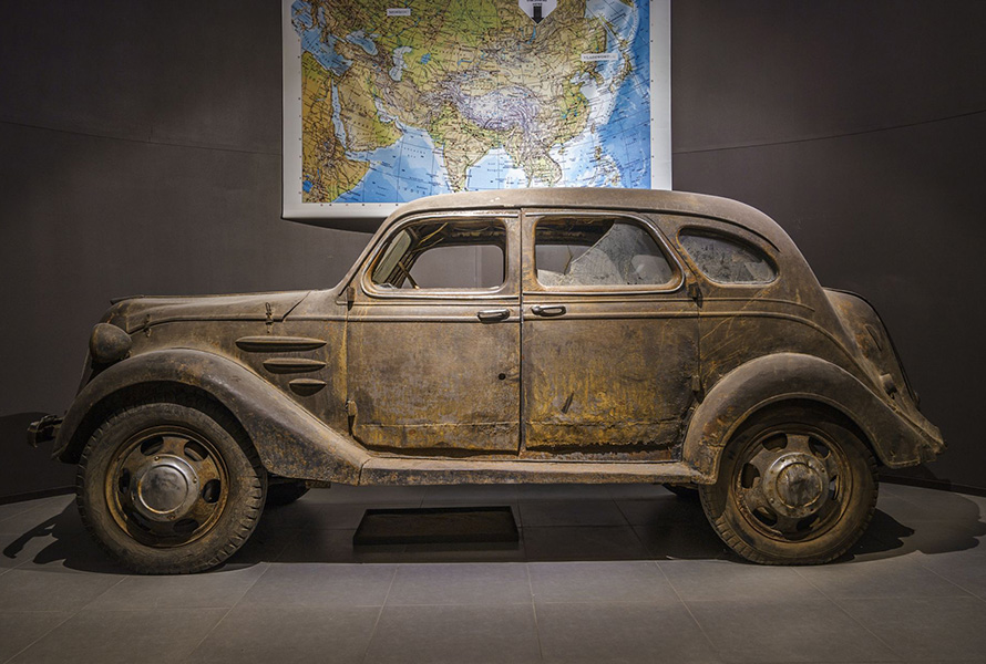 Toyoda Model AA: Finding the world's oldest Toyota