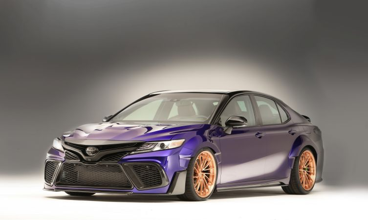 What happens when a Top Gear presenter modifies a Toyota Camry?