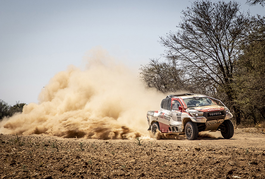 Invaluable rally raid experience for Fernando Alonso at Lichtenburg 400