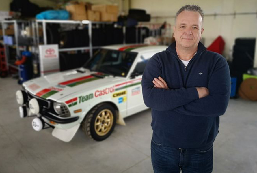 Toyota People: Benny Heuvinck, rally historian