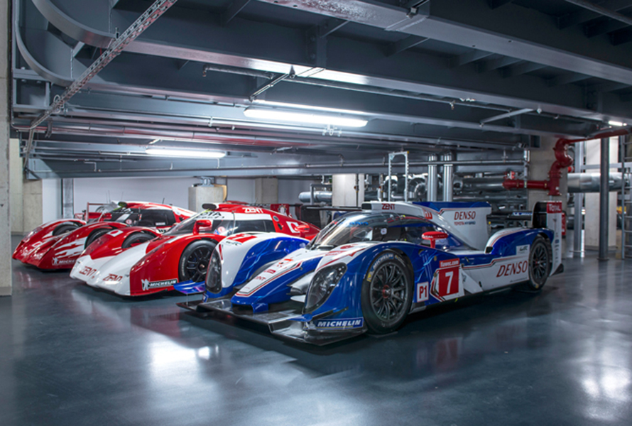 Inside the Toyota Gazoo Racing Europe museum